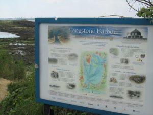 Langstone Harbour sign
